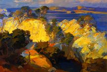 Franz Bischoff / Franz A. Bischoff was an American artist known primarily for his China painting, floral paintings and California landscapes. He was born in Steinschönau, Austria 1864-1929