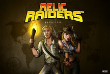Relic Raiders Adventure! / 5-reel, 4 row slot Relic Raiders is an adventure themed slot with exciting clickable free spins. Up to 2 00 000 coins on a single bet line up for grabs!