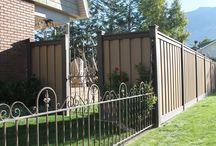 Trex Ornamental Fencing / Trex fencing that is custom built with steel or aluminum, for a beautiful look!