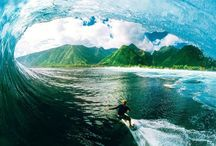 Rad Surfing / Awesome photos of surfing. Makes you want to go out and ride some waves now? / by Surfboard Brands HQ