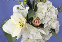 Kompozycje kwiatowe / Inspirujące kompozycje ze sztucznych kwiatów.