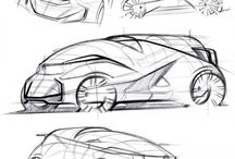 sketching_automobil