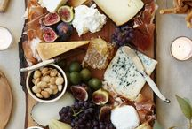 Easy Easter Food / Cheese & Meat Board