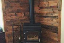 wood stove ideas