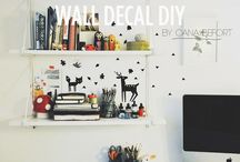 Diy Wall decal