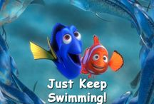 Finding dory and finding nimo