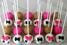 Kate Spade Themed Cake Pops / Perfect treats for a Kate Spade themed party