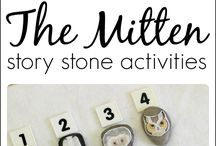 "Preschool ""The Mitten Theme"""
