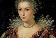women's portraits 1575-1600