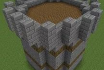 Minecraft / Video game where you design and build things and try to survive