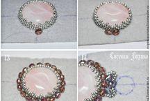 Beaded bracelets tutorial