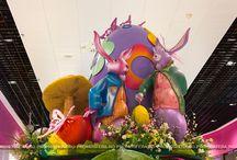 Giant Easter Eggs / Campanie de Paște - Carrefour Felicia Iași