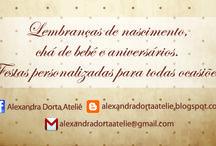 Ateliê Alexandra Dorta / Criação e desenvolvimento de identidade visual e cartão de visitas.