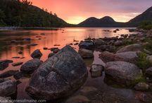 Acadia National Park / Maine's breathtaking National Park.
