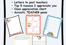 Teacher appreciation / by Jacqueline Brown