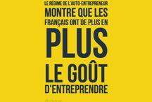 Auto-Entreprise ~ Entreprendre en France / L'auto-entreprise peut être une opportunité d'agir avec souplesse et proximité sur l'avenir de ses clients : soutenir la création et le développement autour de soi est une mission positive. J'ai moi-même créé une auto-entreprise, réel trait d'union entre l'idée d'un projet et sa réalisation, trait d'union entre visibilité et de progression...