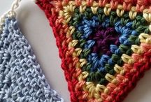 Crochet Bunting, Garlands & Wall Decor / Theres lots of lovely ways to decorate with crochet