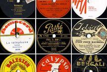 Vintage Record Graphics