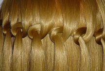 Пособия по прическам-косам