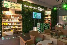 Pub Carlsberg event - kartonowe wyposażenie
