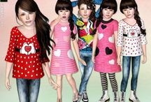 Roupas de criança Sims 4