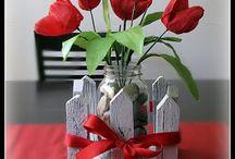 Décoration St-Valentin