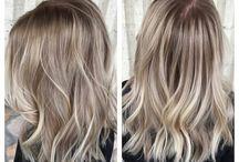 Hair colour...