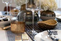Table setting / Setting your table when entertaining is key!