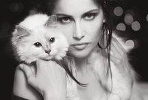 Laetitia Casta / French model/actress born May 11, 1978. Became famous as a Guess girl in 1993 / by SJW