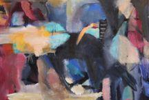 Eva Katz Larsson oil 62x40cm