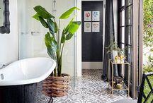 Förslag till badrum och bastu
