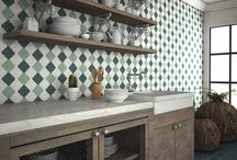 Designer wall tiles / Unique architectural wall and floor tiles