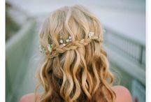 Wedding hair Ideas / Hair Inspiration for Weddings