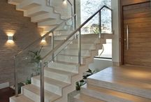 Architectural Metal / Glass Staircase
