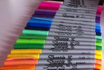 Do it with Sharpies! / #needsharpiesinmylife #timetogetcreative #wishihadtalent #agirlcandream