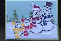 Stampin Up Snow Place / What a cool stamp set, and the coordinating thinlet set makes it even more spectacular!  I'm happy to answer any questions you may have about any of these projects. You can email me at amascio@comcast.net. Check out my blog at: www.stampwithanna.blogspot.com Shop with me at: http://www.stampinup.net/esuite/home/annamasciovecchio/