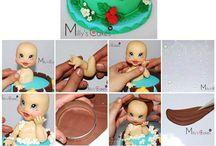 Girls cake
