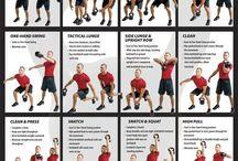 Fitness training for men