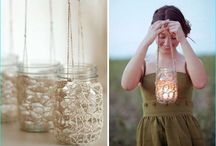 Attractive Mason Jar Decorations / Have you ever decorated the mason jars around your home interiors? Mason jars look great in any kind of design strategies, it can add the gorgeous rustic look around. Keeping few tools beside you can easily make out attractive mason jar decorations. Have a look into these collections of mason jars.