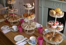 Afternoon Tea Party Ideas / Afternoon Tea Baby Shower ideas, retirement wedding showers what ever occasion you are celebrating look for food,drinks, cakes,sweet  or savoury or gift ideas
