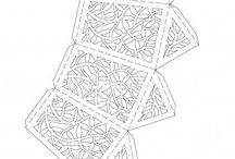 lucerny z papiru