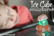 Ice / Messy play with ice