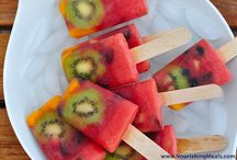 Healthy Summer Frozen Treats / Enjoy these frozen summer treats!