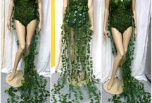 ivy paper costume
