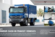 MSPV Armoured Vehicles / MSPV take orders  of Armoured Vehicles, Bulletproof Cars, Cash in transit CIT Van, Military Trucks, Armored personnel carriers, Ambulance, and any other commercial & civilians vehicles.
