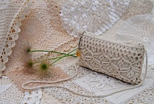 Crochet, Macrame Tatting, & Lace / Creative use of macrame and lace including when photographing textures and tones.
