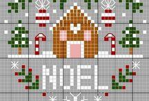 【クロスステッチ】クリスマス
