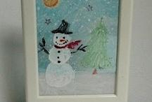 Winter Kids Art Ideas