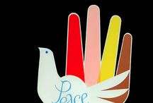 affiches paix peace  an love
