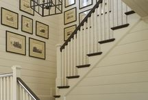 Beautiful Stairwell Ideas / Decorating your stairs